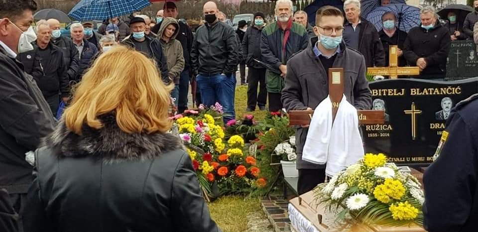 Posljednji ispraćaj bugojanskog sevdalije Vinka Brnade