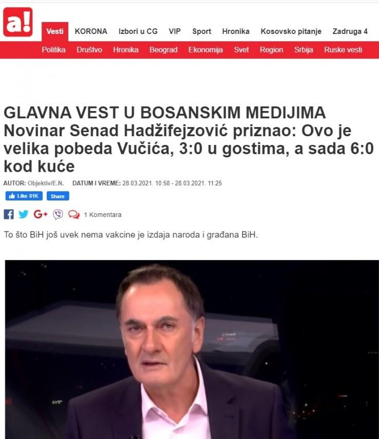 Tekstovi iz srbijanskih medija
