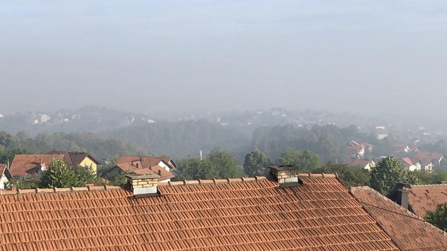 Građani se žale na dim (Foto: Čitatelj)