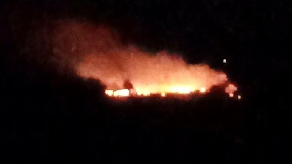 Požar je bio aktivan i sinoć (Foto: Čitatelj)