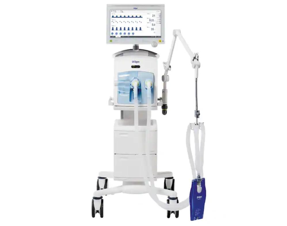 Respirator koji stiže na KCUS (Foto: Dräger)